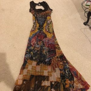 Save The Queen vintage maxi dress